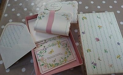 VINTAGE COUNTRY DIARY OF AN EDWARDIAN LADY unused STATIONERY SET M & S