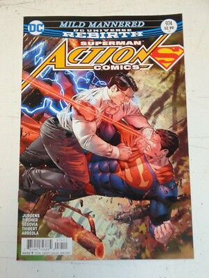 Action Comics #974 Dc Universe Rebirth Superman Nm (9.4)