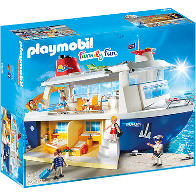 Playmobil Family Fun Cruise Ship 6978 NEW