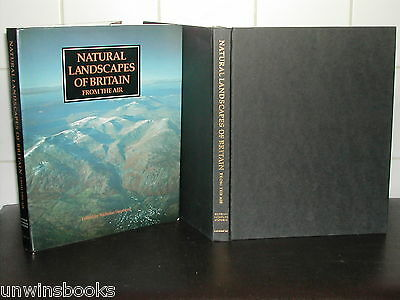 NATURAL LANDSCAPES of BRITAIN from the AIR: Nicholas Stephens HARDBACK 1st Ed