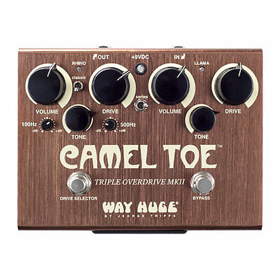 Way Huge Camel Toe Triple Overdrive MKII Guitar Pedal - Combines Green Rhino And