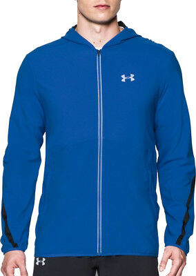 Under Armour Run True Mens Running Jacket - Blue
