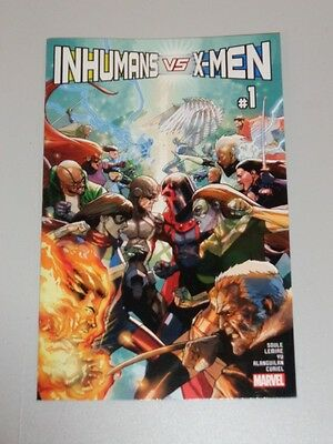 Inhumans Vs X-Men #1 Marvel Comics Nm (9.4)