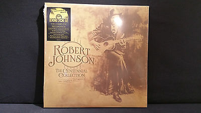Robert Johnson ‎– The Centennial Collection ' 3 X LP MINT & SEALED  RSD 2017