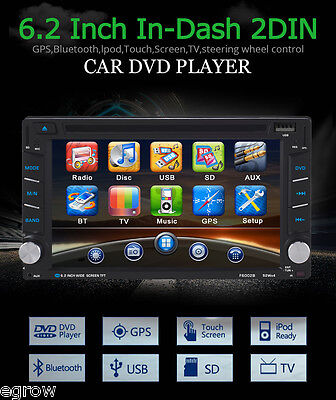 doppel din autoradio gps navigation navi bluetooth dvd. Black Bedroom Furniture Sets. Home Design Ideas