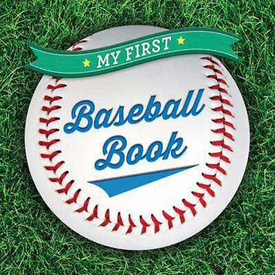 My First Baseball Book by Sterling Children's (English) Board Books Book Free Sh
