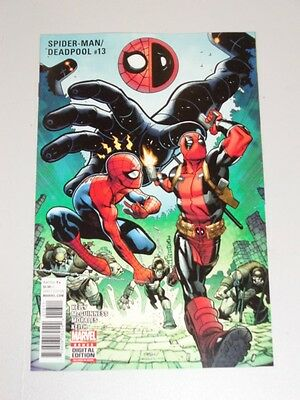 Spiderman Deadpool #13 Marvel Comics Nm (9.4)