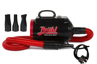 Bruhl Bd1240 Powerful 2400W Motorbike Blaster Motorcycle Dryer With Rcd Cut Out