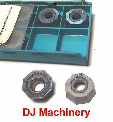 LMT OCKX 0606 AD-TR Indexable Fly Cutter End Face Mill Carbide Inserts LC240T