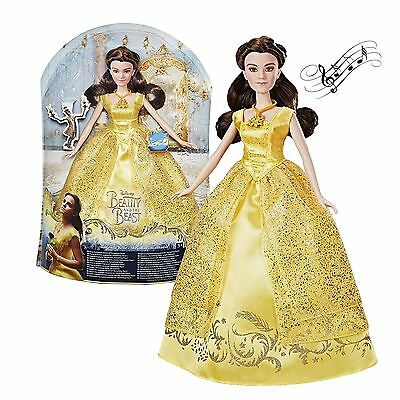 Official Disney Beauty and the Beat Beast Belle Singing Doll Melody Toy Gift UK