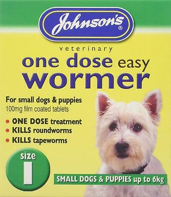 Johnsons One Dose Wormer - Size 1