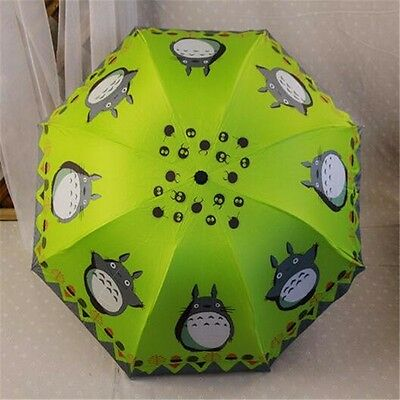 My Neighborhood Totoro Ultralight Windproof Sun Rain Automatic Folding Umbrella