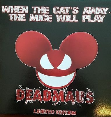 """Deadmau5 """" When The Cats Away The Mice Will Play """" New Lp *** Coloured Vinyl ***"""