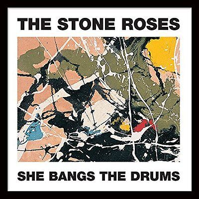 """The Stone Roses (She Bangs The Drums) 12"""" Framed Classic Album Sleeve"""