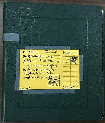 {BJ Stamps} SPAIN collection, 1930-1967, Scott Album. MH, MNH, Used. CV $2649.