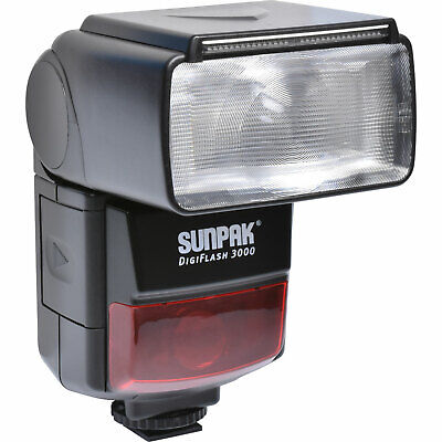 Sunpak DigiFlash 3000 Electronic Flash Unit for Canon EOS E-TTL II DSLR Cameras