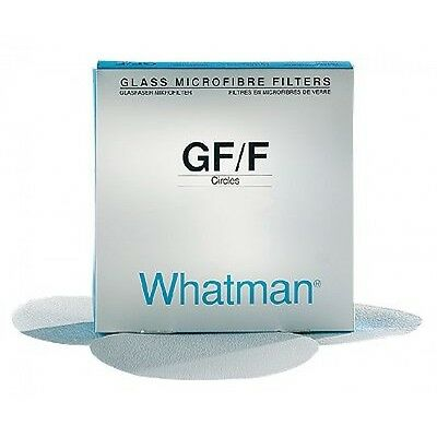 Whatman 1825-047 Glass Microfiber Qualitative Grade GF/F Filter Paper, 4.7 cm