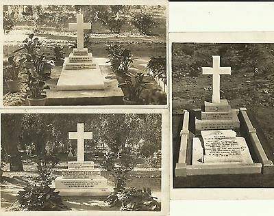 6 x  postcards  of  Seaforth Highlanders  graves & military funeral