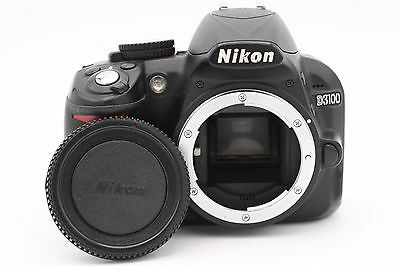 Nikon D D3100 14.2MP Digital SLR Camera - Black (Body Only) - Shutter Count:1820