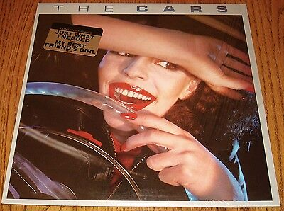 The Cars Self Titled Original First Press Lp With Sticker In Shrink ~ 1978
