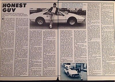 Cozy Powell. 3 Page Interview Poster Article From Vintage 1982 Kerrang! Magazine