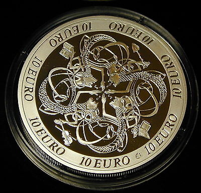 Ireland: Irish Celtic  Culture 10 Euro Silver Proof  2007. Unc.free Shipping