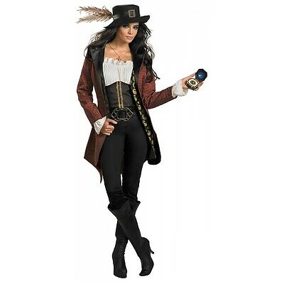 Angelica Costume Adult Pirates of the Caribbean Halloween Fancy Dress