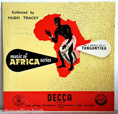 "10"" EP Music Of Africa - SONGS & INSTRUMENTAL MUSIC OF TANGANYIKA"