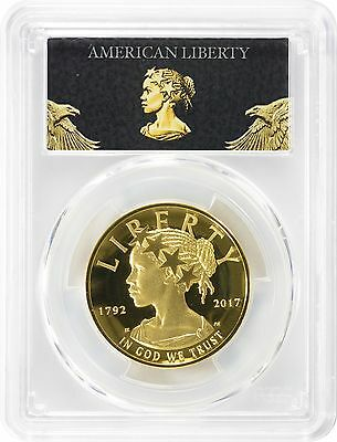 2017-W $100 American Liberty High Relief Gold PR70DCAM PCGS FS Gold Label