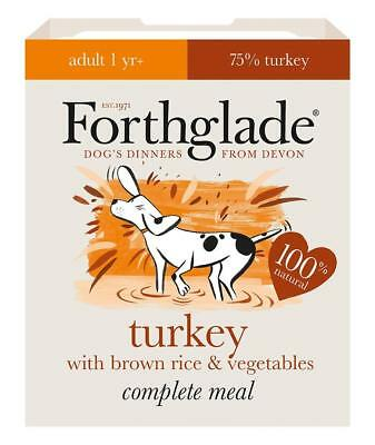 Forthglade Complete Meal Adult Turkey with Brown Rice & Vege
