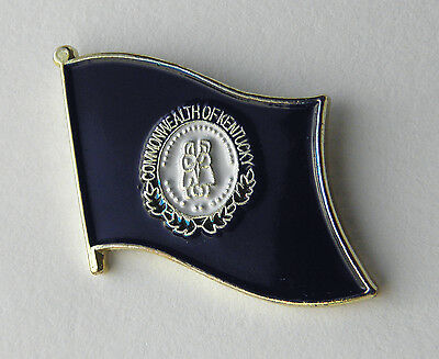 Kentucky Us State Flag Lapel Pin Badge 3/4 Inch