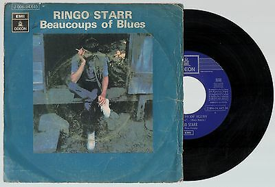 RINGO STARR Beaucoups of Blues 1970 Spain Single 45 Apple Beatles