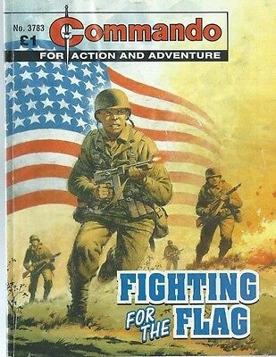 Fighting For The Flag,commando For Action And Adventure,no.3783,war Comic,2005