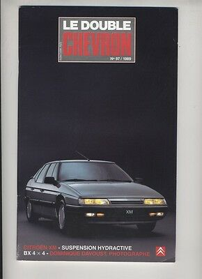 (156A) CITROEN Le double chevron N°97 / 1989