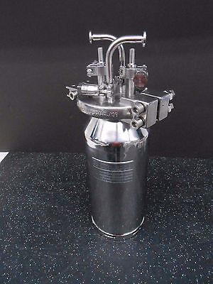 Eagle Stainless Container Ss 5 Liter Pressure Vessel/tank With Clamps & Fittings