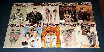 FIGHT CLUB 2 #1 2 3 4 5 6 7 8 9 10 1st print set CHUCK PALAHNIUK DH COMIC SET NM
