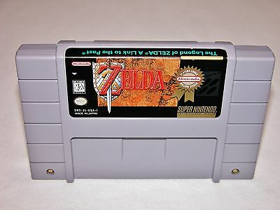 Legend of Zelda Link to the Past Game for Super Nintendo SNES *TESTED & CLEANED*