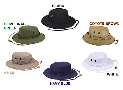 Boonie Bucket Flap Bush Hat Army Hiking Fishing Camp Airsoft Paintball Hunting