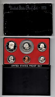 1979 S United States Mint Proof Set in Original US Government Packaging