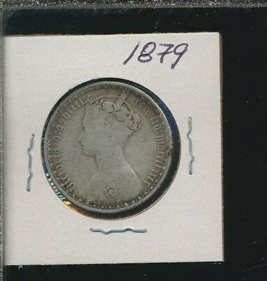 Great Britain  - Silver Florin - Gothic 1879