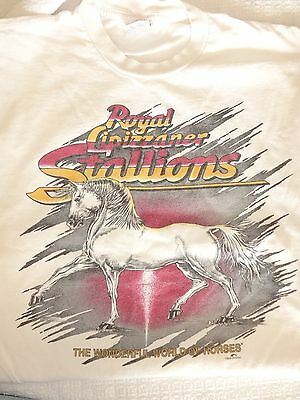 Royal Lipizzaner Stallions Souvenir T-Shirt, Medium