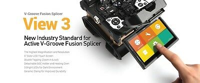 INNO VIEW 3 ACTIVE CLAD ALIGNMENT FUSION SPLICER KIT NEW 3 year warranty