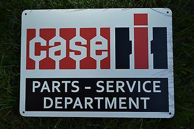 CASE International Harvester Farming Tractor SIGN Agriculture Advertising Logo
