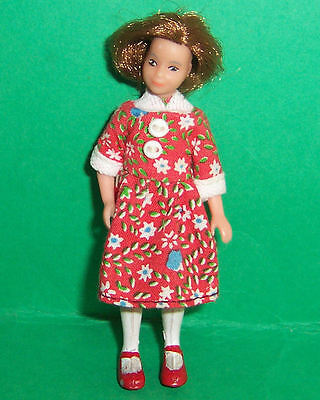 VINTAGE 1970's LUNDBY DOLLS HOUSE GIRL DOLL