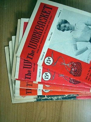 Lot 9 Issues The Workbasket Magazine 1956 March-May, July-December