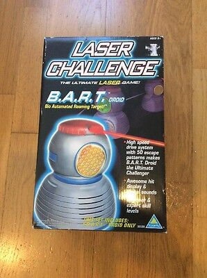 New B.a.r.t. Bart Laser Challenge Automated Roaming Droid 1997 Toymax Nib In Box