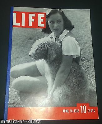April 18, 1938 LIFE Magazine Jews article 30s Advertising ads FREE SHIPPING 4 17