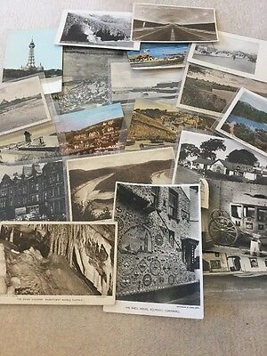 Large Collection Of Vintage Postcards Depicting Many UK Britain Places.