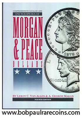"VAM Book of Morgan & Peace Dollars 4th Edition Catalog & Encyclopedia ""NEW"""