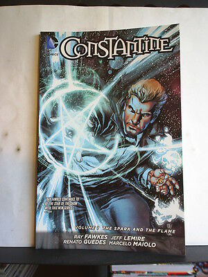 GRAPHIC NOVEL: CONSTANTINE - VOL 1: THE SPARK AND THE FLAME Paperback Hellblazer